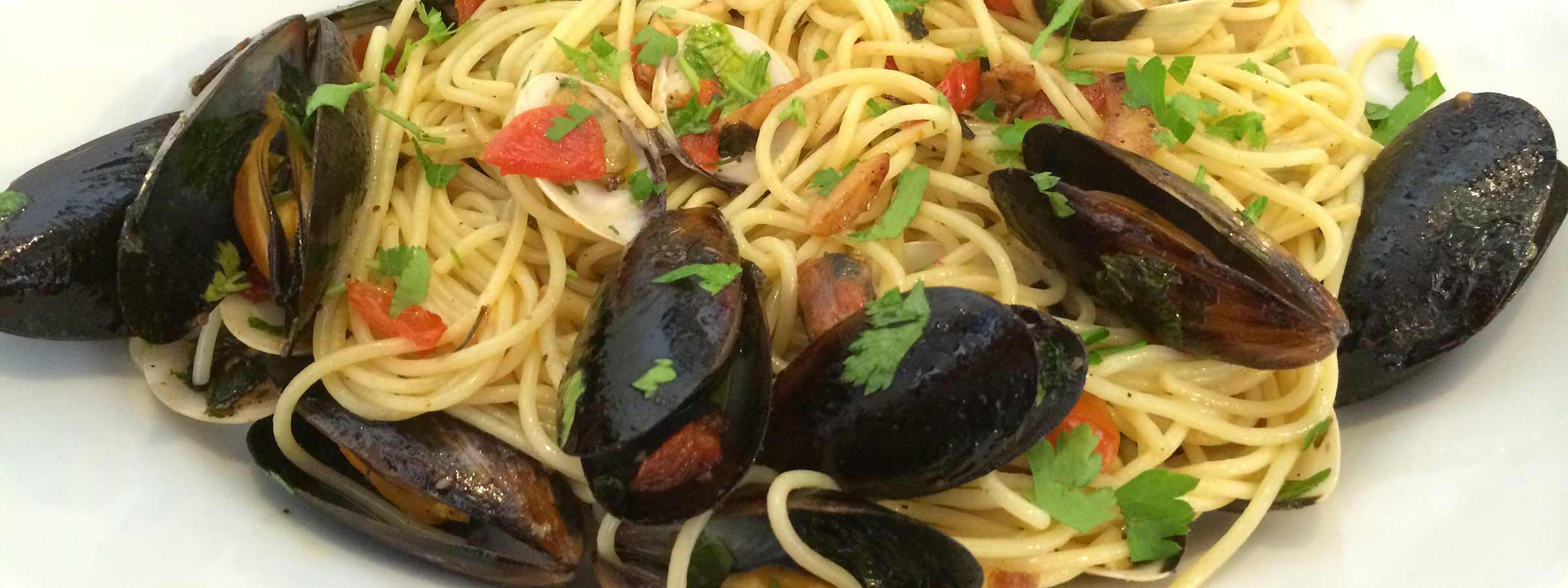 mussels in pasta